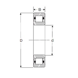 50 mm x 90 mm x 20 mm  SIGMA NJ 210 cylindrical roller bearings