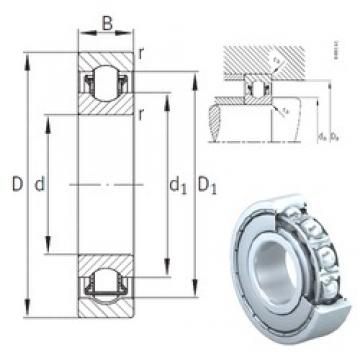 50 mm x 90 mm x 20 mm  INA BXRE210-2Z needle roller bearings