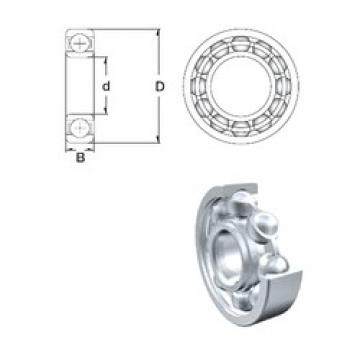 50 mm x 80 mm x 16 mm  ZEN 6010 deep groove ball bearings